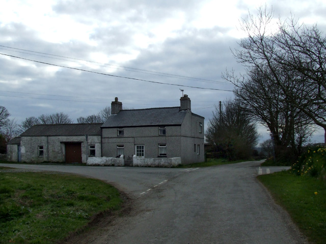 House on the crossroads