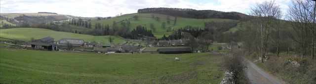 Marske Village : Looking South from Cordilleras  Lane