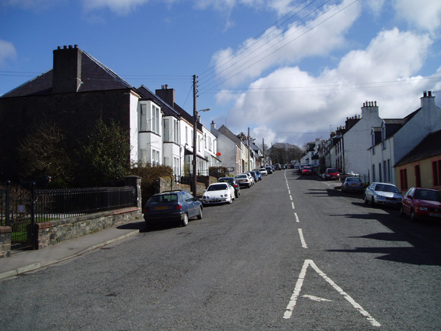 Main Street, St John's Town of Dalry