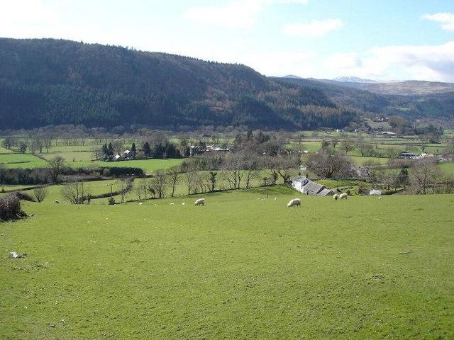 Llanrwst farmland