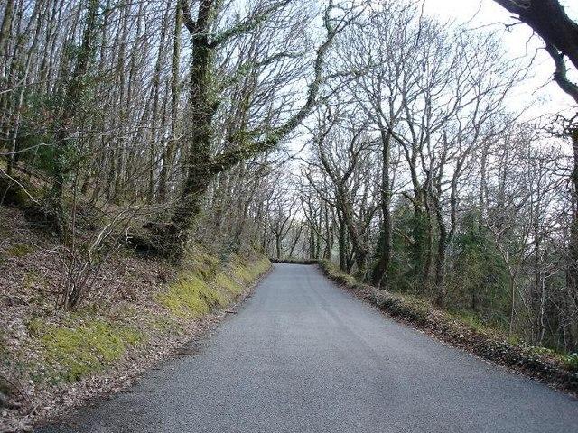 B5427 uphill