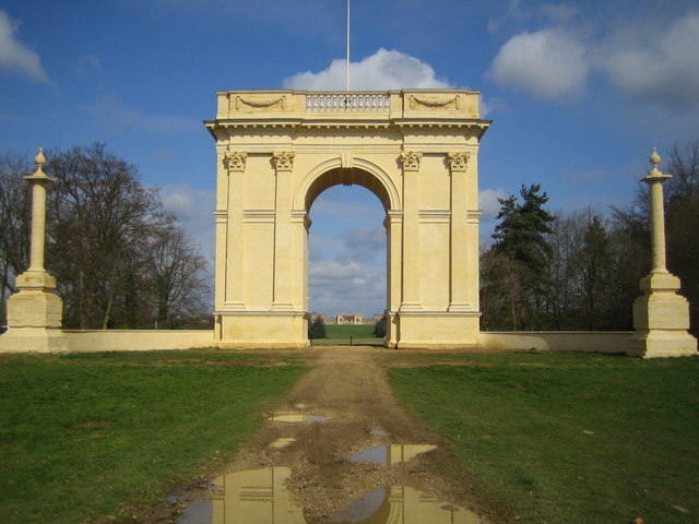 Stowe: The Corinthian Arch