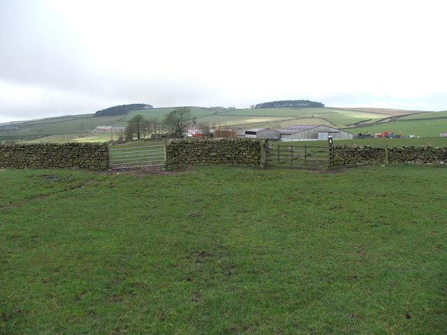 Bank End Farm.