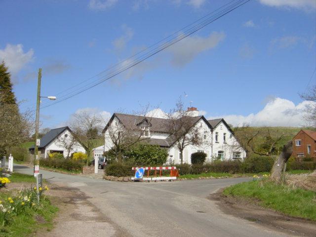 Junction of Watling Street with Stoney Lane, Delamere