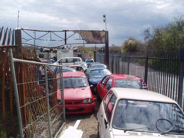 Scrapyard, Upper Ruxley, Kent