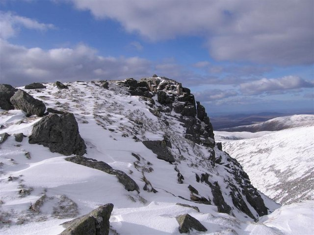 Summit of Uisgneabhal Mor, North Harris