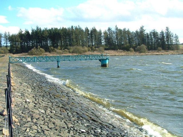Cameron Reservoir, East dam