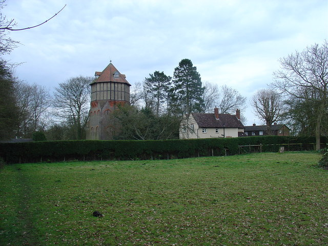 Water tower at Felden