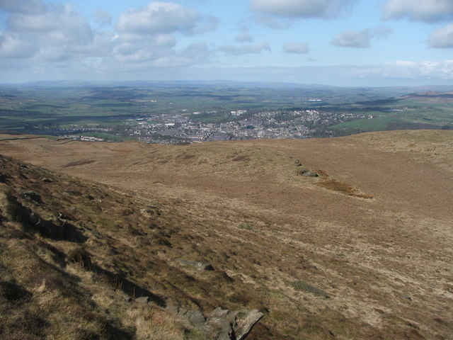 View from Skipton Moor.