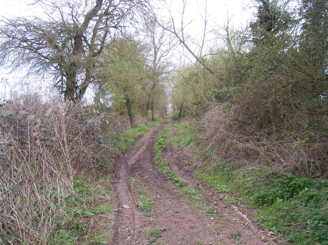Bridleway to the Mill by Lugg Bridge