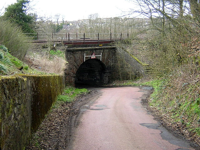 Railway Bridge at Garngibboch