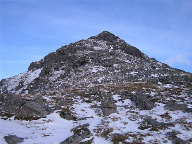 North-west face of Uisgneabheal Mòr, North Harris