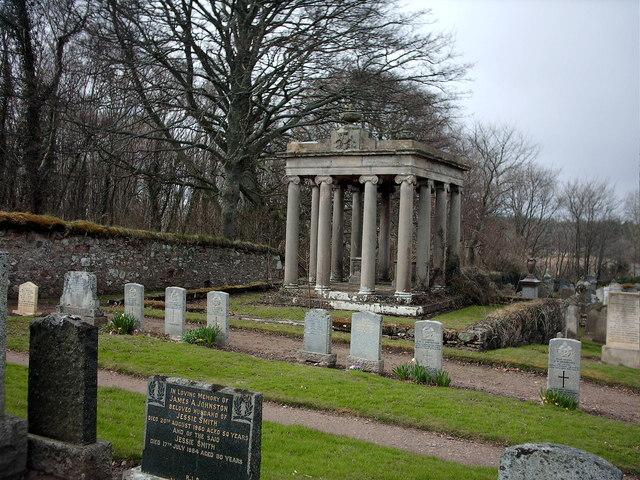 Bellie Churchyard near Fochabers