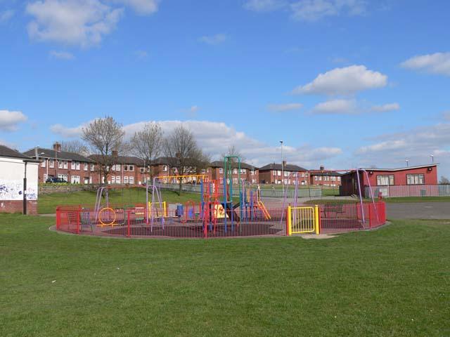 Children's playground at Ward Green