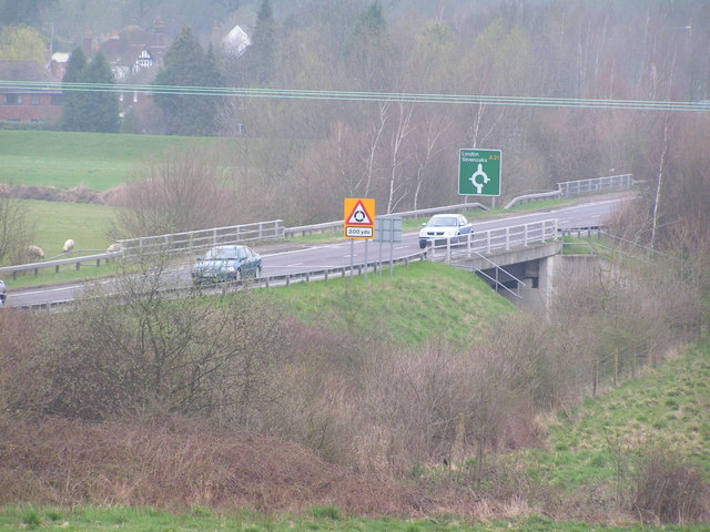 Robertsbridge Bypass crossing the R. Rother