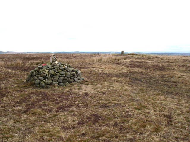 Cairn and Trig Point
