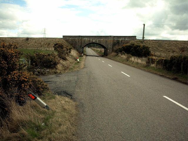 Railway Bridge West of Lhanbryde.