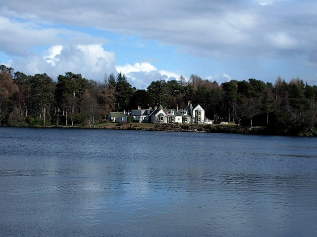 Loch na Bo House near Lhanbryde