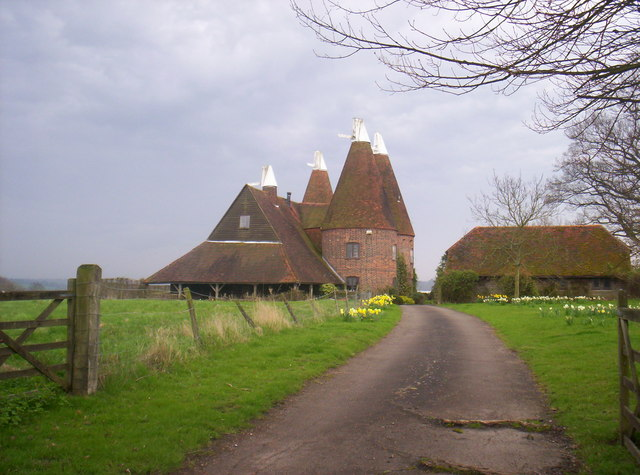 Chiddingstone Oast Houses