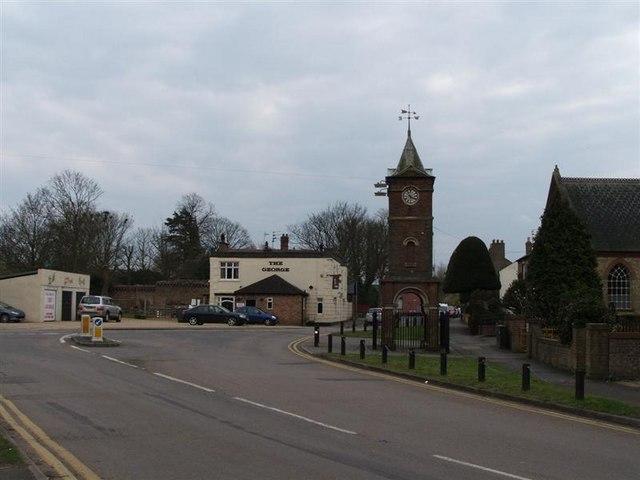 Doddington clock tower