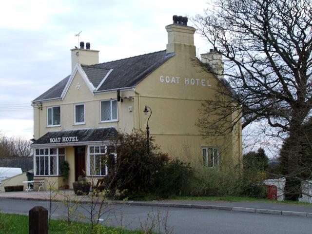 The Goat Hotel in Llanwnda Y Goat Llanwnda