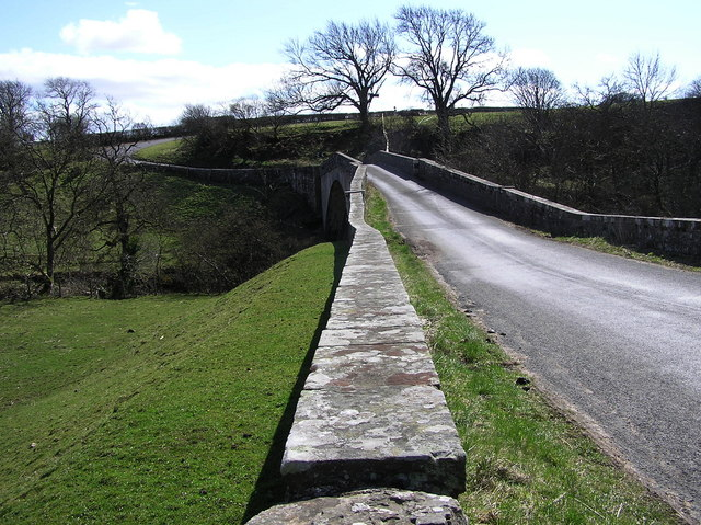 Rutherford Bridge, facing South