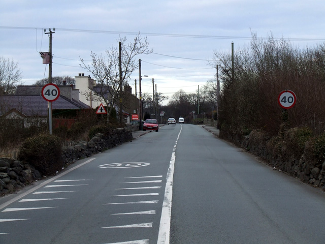 Road through Bethesda Bach