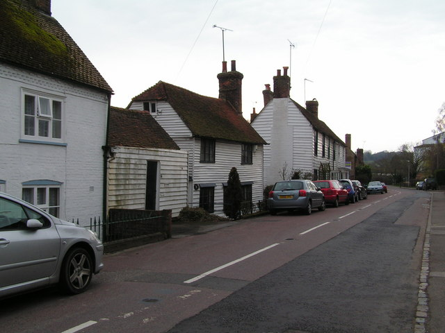Northbridge Street, north of Robertsbridge