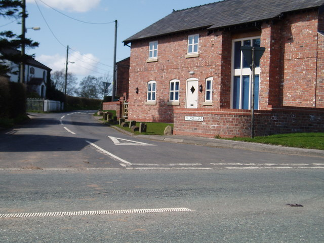 Junction of Pillmoss Lane & Tarporley Road (A49)