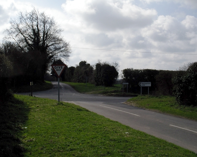 Crossroads on old A30