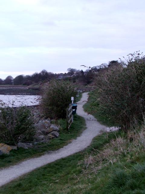 National cycle route 8 at Caernarfon