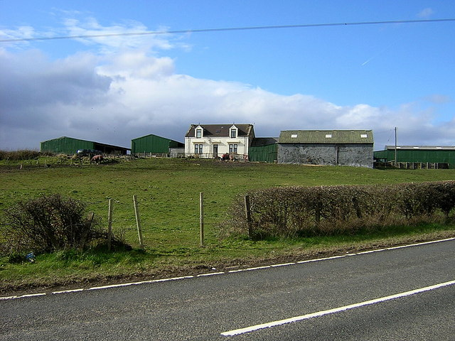 Gartliston Farm Near Glenboig