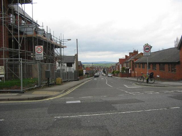 Argyll Road in Ripley