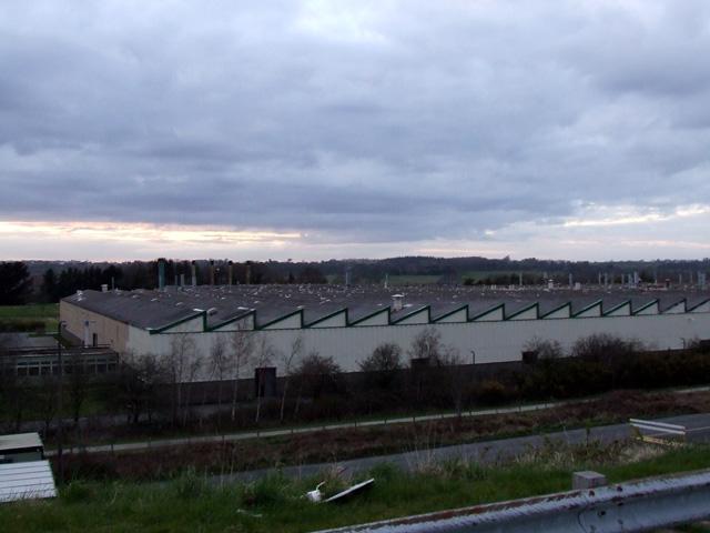 Factory on outskirts of Caernarfon