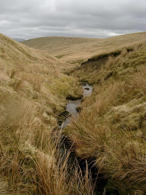 Upper reaches of the Spothfore Burn
