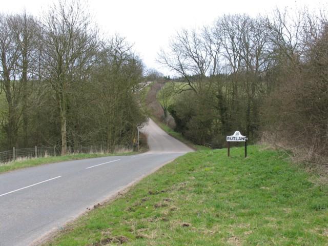 Knossington to Oakham road