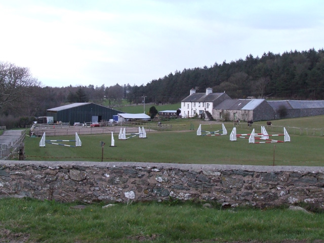 Showjumping Fences in a field