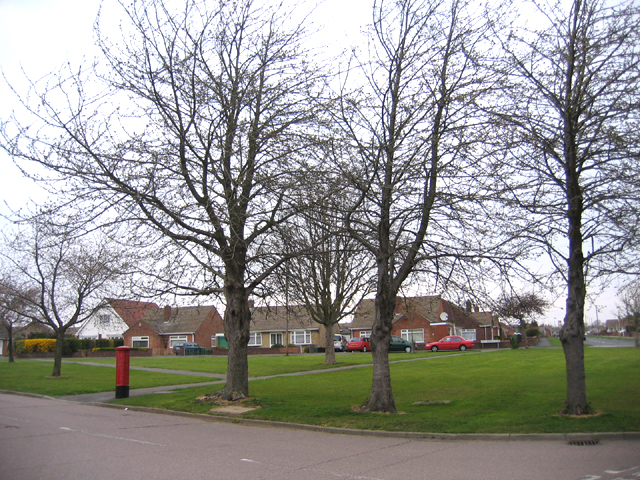 Green space in Stanground, Peterborough