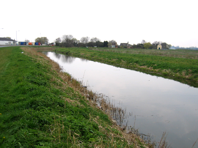 King's Dike drain, Whittlesey, Cambs
