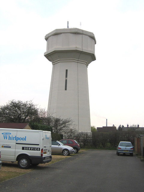 Water tower, Whittlesey, Cambs