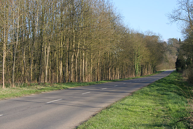 Belvoir Road at Belvoir Castle