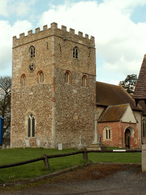 St. Peter & St. Thomas Becket church, Stambourne, Essex
