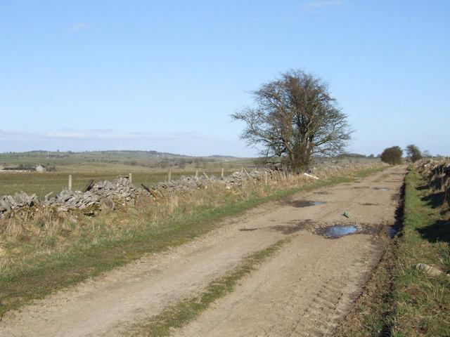 Farm track.