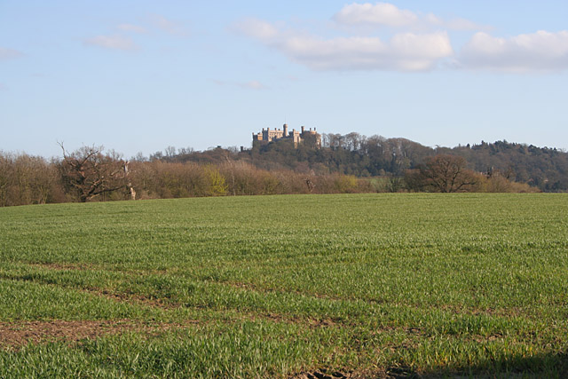 Farmland near Belvoir Castle