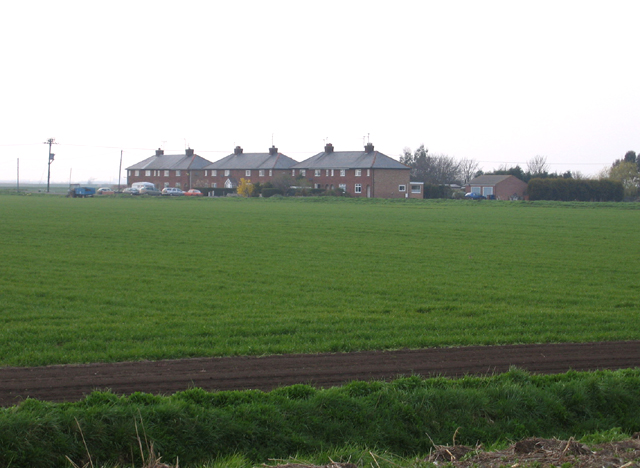 Houses on Cambers Drove, Whittlesey, Cambs