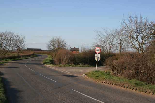 Belvoir Road near Bottesford
