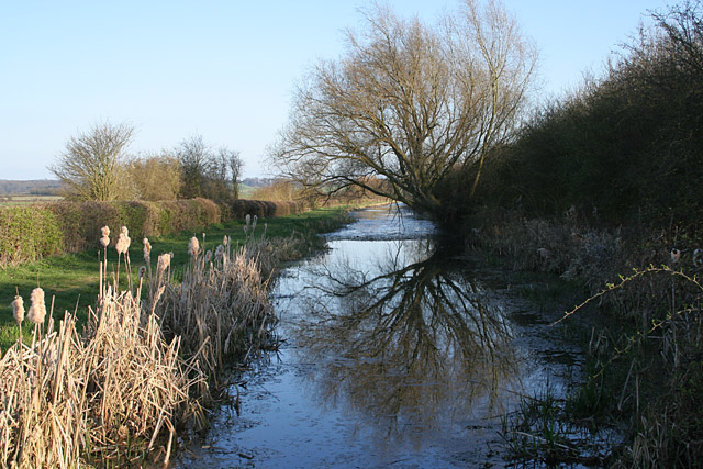 Grantham Canal from Middlestile Bridge