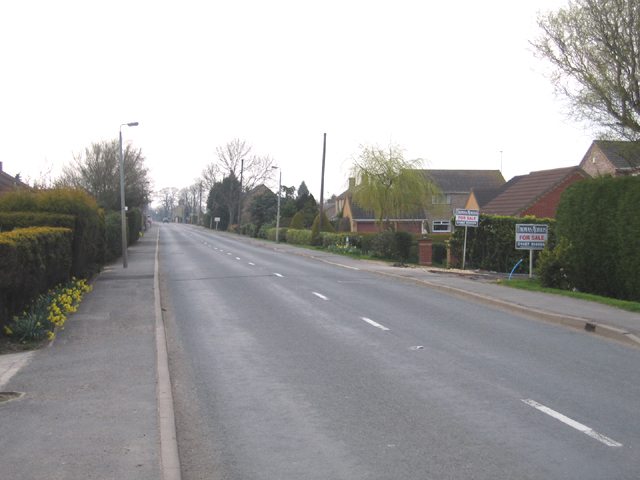 Oilmill's Road through Ramsey Mereside, Cambs