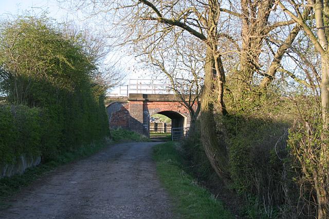 Railway Bridge near Bottesford, Leicestershire