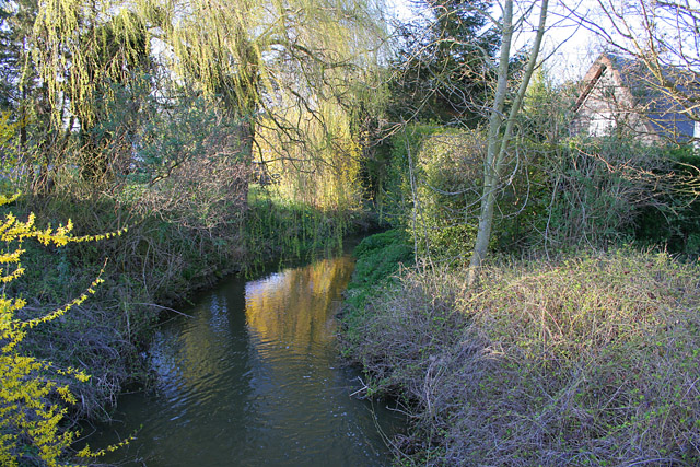 The River Devon at Muston